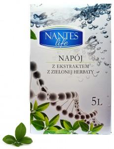 nantes napój z ekstraktem z zielonej herbaty 5L